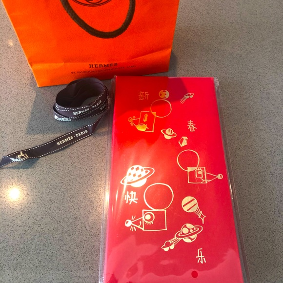 HERMES CHINESE LUNAR NEW YEAR 2020 RED ENVELOPES